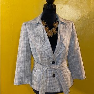 Beautiful Limited Blazer with POCKETS and belted!